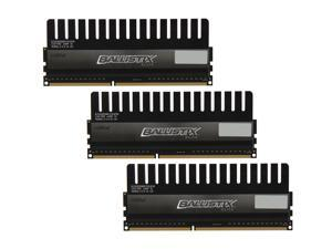 Crucial Ballistix 6GB (3 x 2GB) 240-Pin DDR3 SDRAM DDR3 1600 (PC3 12800) Desktop Memory Model BLE3KIT2G3D1608DE1TX0