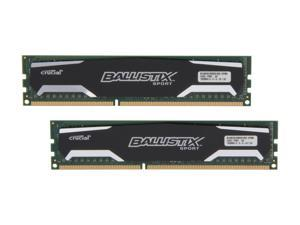 Ballistix Sport 8GB (2 x 4GB) 240-Pin DDR3 SDRAM DDR3 1600 (PC3 12800) Desktop Memory Model BLS2KIT4G3D1609DS1S00