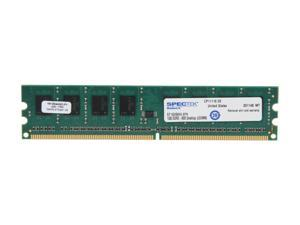 SPECTEK by Micron Technology 1GB 240-Pin DDR2 SDRAM DDR2 800 (PC2 6400) Desktop Memory Model ST1G2D800
