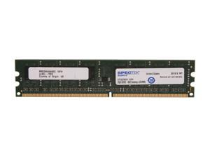SPECTEK by Micron Technology 2GB 240-Pin DDR2 SDRAM DDR2 800 (PC2 6400) Desktop Memory