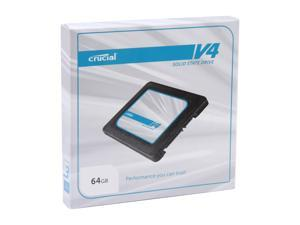 "Crucial V4 CT064V4SSD2 2.5"" 64GB SATA II MLC Internal Solid State Drive (SSD) SSD Only"