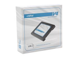 "Crucial V4 CT128V4SSD2CCA 2.5"" 128GB SATA II MLC Internal Solid State Drive (SSD) with Easy Laptop Install Kit"