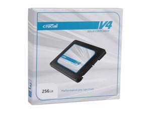 "Crucial V4 CT256V4SSD2 2.5"" 256GB SATA II MLC Internal Solid State Drive (SSD) SSD Only"