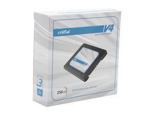 "Crucial V4 CT256V4SSD2CCA 2.5"" 256GB SATA II MLC Internal Solid State Drive (SSD) with Easy Laptop Install Kit"