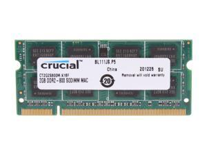 Crucial 2GB DDR2 800 Memory for Apple