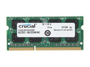 Crucial 4GB DDR3 1066 Memory for Apple Model CT4G3S1067M
