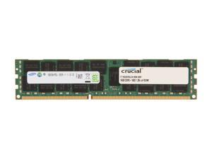 Crucial 16GB 240-Pin DDR3 SDRAM ECC Registered DDR3 1600 (PC3 12800) Server Memory Model CT16G3ERSLD4160B