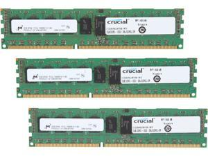 Crucial 6GB (3 x 2GB) 240-Pin DDR3 SDRAM Server Memory Model CT3K2G3ERSLD81339
