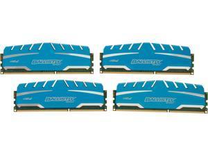 Ballistix Sport XT 32GB (4 x 8GB) 240-Pin DDR3 SDRAM DDR3 1600 (PC3 12800) Desktop Memory Model BLS4K8G3D169DS3
