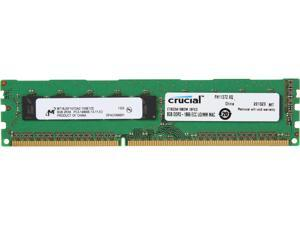 Crucial 8GB DDR3 1866 (PC3 14900) ECC Unbuffered Memory For Mac Pro Systems Model CT8G3W186DM