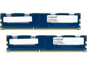 Crucial 64GB (2 x 32GB) 240-Pin DDR3 SDRAM ECC DDR3L 1600 (PC3 12800) Home Audio Model CT2K32G3ELSLQ4160B