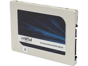 "Crucial MX200 2.5"" 1TB SATA 6Gbps (SATA III) Micron 16nm MLC NAND Internal Solid State Drive (SSD) ..."