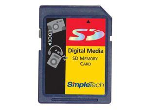 SimpleTech 4GB Secure Digital (SD) Flash Card