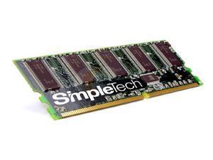 SimpleTech 256MB 184-Pin DDR SDRAM DDR 400 (PC 3200) Desktop Memory Model SVM-DDR3200/256