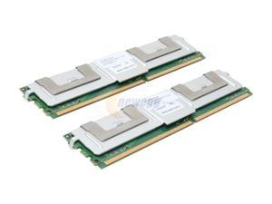 SimpleTech 1GB (2 x 512MB) 240-Pin DDR2 FB-DIMM ECC Fully Buffered DDR2 667 (PC2 5300) Dual Channel Kit Server Memory Model ...