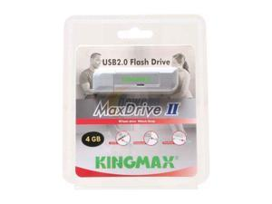 KINGMAX MaxDrive II 4GB Flash Drive (USB2.0 Portable)