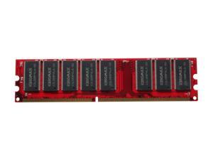 KINGMAX 512MB 184-Pin DDR SDRAM DDR 400 (PC 3200) Desktop Memory Model MPXC22F - OEM