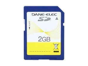 DANE-ELEC 2GB Secure Digital (SD) Flash Card Model DA-SD-2048-R
