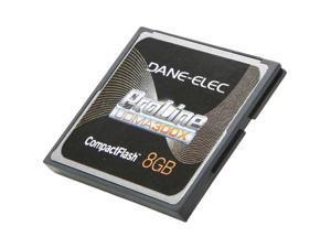 DANE-ELEC ProLine 8GB Compact Flash (CF) Flash Card Model DA-CF30-08G-C