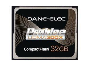 DANE-ELEC Proline 32GB Compact Flash (CF) Flash Card