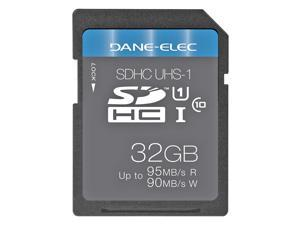 DANE-ELEC 32GB Secure Digital High-Capacity (SDHC) Flash Card