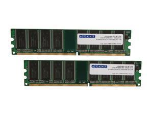 AllComponents 2GB (2 x 1GB) 184-Pin DDR SDRAM DDR 400 (PC 3200) Dual Channel Kit Desktop Memory Model AC400X64/2048-KIT