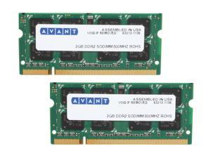 AllComponents 4GB (2 x 2GB) 200-Pin DDR2 SO-DIMM DDR2 800 (PC2 6400) Laptop Memory Model AC2/SO800X64/4096-KIT