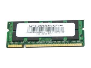 AllComponents 1GB 200-Pin DDR2 SO-DIMM DDR2 533 (PC2 4200) Laptop Memory Model AC2/SO533X64/1024
