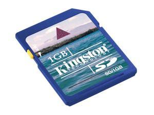 Kingston 1GB Secure Digital (SD) Flash Card