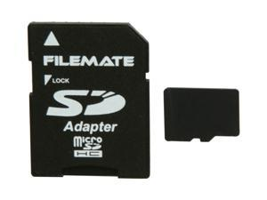 Wintec FileMate 8GB Class 4 Micro SDHC Flash Card with SD Adapter Model 3FMUSD8GB-R
