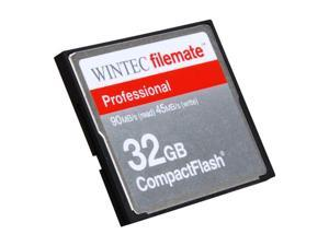 Wintec FileMate Professional 32GB Compact Flash (CF) Flash Card Model 3FMCF32GBP-R
