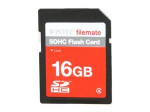 Wintec FileMate 16GB Secure Digital High-Capacity (SDHC) Flash Card Model 3FMSD16GB-R
