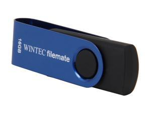 Wintec FileMate Swivel 16GB USB 2.0 Flash Drive (Navy Blue) Model 3FMUSB16GWN-R