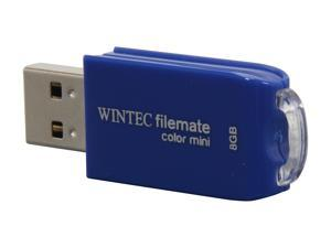 Wintec FileMate Color Mini 8GB USB 2.0 Flash Drive (Blue)
