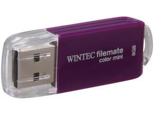 Wintec FileMate Color Mini 8GB USB 2.0 Flash Drive (Purple)
