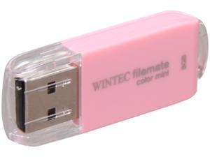 Wintec FileMate Color Mini 8GB USB 2.0 Flash Drive (Pink)