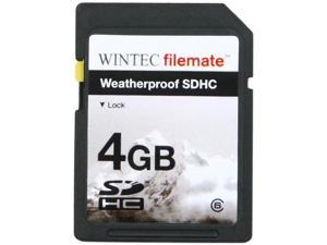 Wintec Filemate 4GB Secure Digital High-Capacity (SDHC) HD Video  Weatherproof Card  (Black)