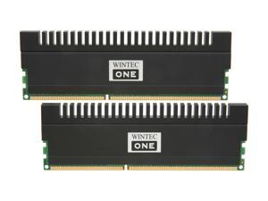 Wintec One 4GB (2 x 2GB) 240-Pin DDR3 SDRAM DDR3 1600 (PC3 12800) Desktop Memory Model 3OH16009U8H-4GK