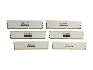 Wintec 48GB (6 x 8GB) 240-Pin DDR3 SDRAM ECC Registered DDR3 1600 (PC3 12800) Server Memory Model 3RSL160011R5H-48GH