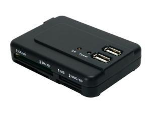 Koutech IO-RCH620 USB 2.0 All-in-one  External Hub & Card Reader Combo