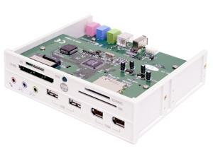 Koutech F7209 Multifunction Hi-Speed USB 2.0 Front Panel w/Card Reader