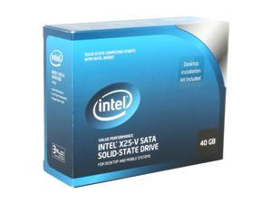 "Intel X25-V SSDSA2MP040G2K5 2.5"" 40GB SATA II MLC Internal Solid State Drive (SSD)"