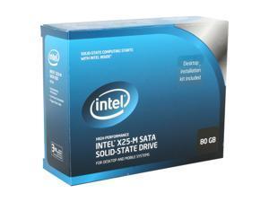 """Intel X25-M SSDSA2MH080G2K5 2.5"""" 80GB SATA II MLC Internal Solid State Drive (SSD)"""