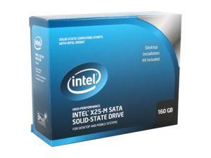 """Intel X25-M SSDSA2MH160G2K5 2.5"""" 160GB SATA II MLC Internal Solid State Drive (SSD)"""