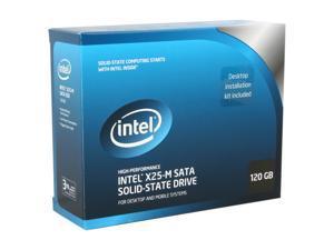 """Intel X25-M SSDSA2MH120G2K5 2.5"""" 120GB SATA II MLC Internal Solid State Drive (SSD)"""