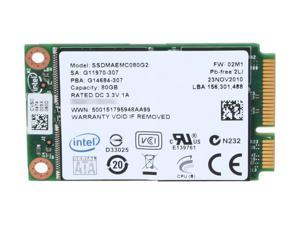 Intel 310 Series SSDMAEMC080G2C1 80GB Enterprise Solid State Disk