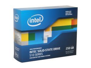 """Intel 510 Series (Elm Crest) SSDSC2MH250A2K5 2.5"""" 250GB SATA III MLC Internal Solid State Drive (SSD)"""