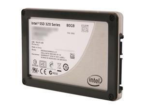"Intel 320 Series 2.5"" 80GB SATA II MLC Internal Solid State Drive (SSD) SSDSA2CW080G310"