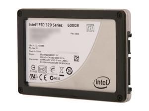 """Intel 320 Series SSDSA2CW600G310 2.5"""" MLC Internal Solid State Drive (SSD) - OEM"""