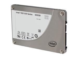 """Intel 320 Series SSDSA2BW600G301 2.5"""" 600GB SATA II MLC Internal Solid State Drive (SSD) - OEM"""